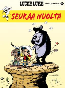 Lucky Luken uudet seikkailut 12: Seuraa nuolta. Achdé, 2018. Egmont Kustannus. Suomennos ranskasta.