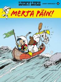 Lucky Luken uudet seikkailut 14: Merta päin. Achdé, 2020. Egmont Kustannus. Suomennos ranskasta.