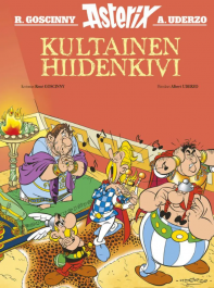 Asterix: Kultainen hiidenkivi. Goscinny ja Uderzo, 2021. Egmont Kustannus. Kuvakirja, suomennos ranskasta.
